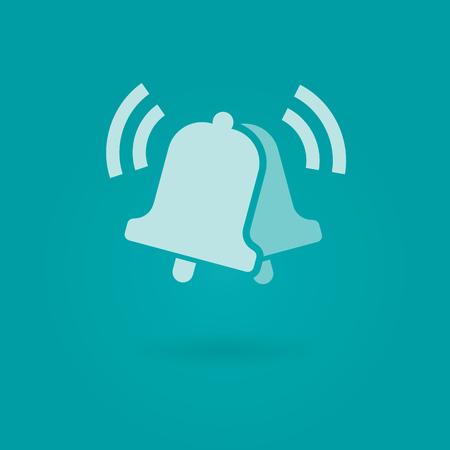 smart phone: Modern vector design element on white background, flat design.