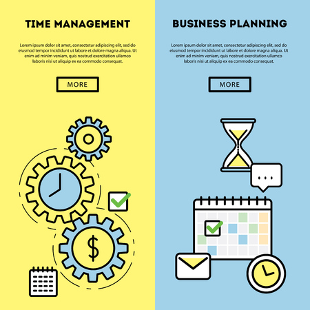 data management: Modern vector illustration and stylish design element
