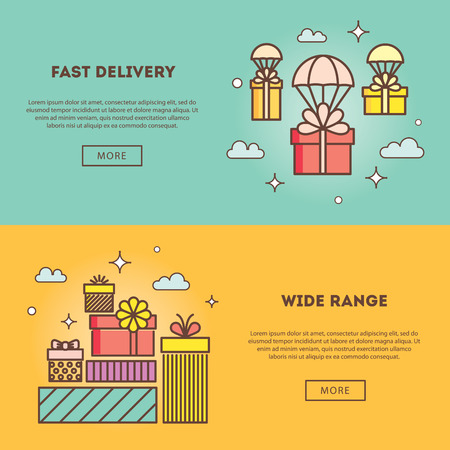 wide: Modern vector illustration and stylish design element