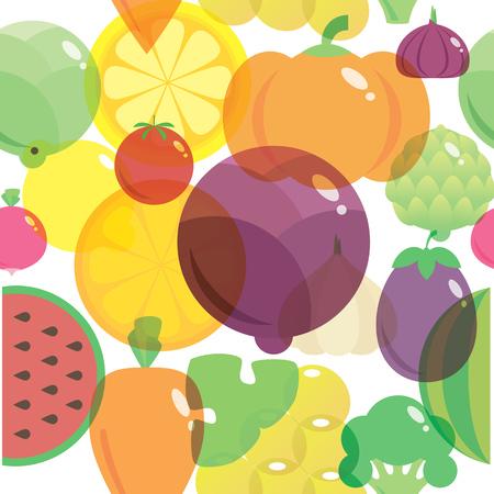 eating habits: Stylish modern flat vector illustration and design element.