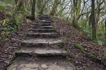Stairway to Thors cave .
