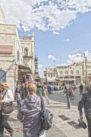 jewish quarter: Jaffa Gate, Jerusalem