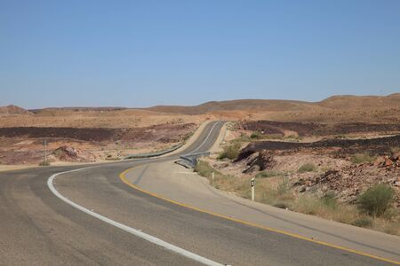 eilat: Ramon Crater, Israel Road to Eilat