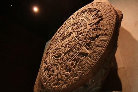 anthropology: Aztec calendar Editorial