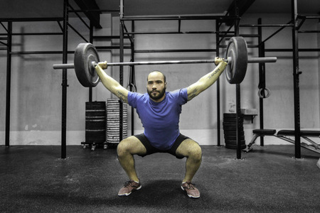 Overhead Squat, Crossfit