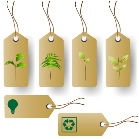 eco building: tags set