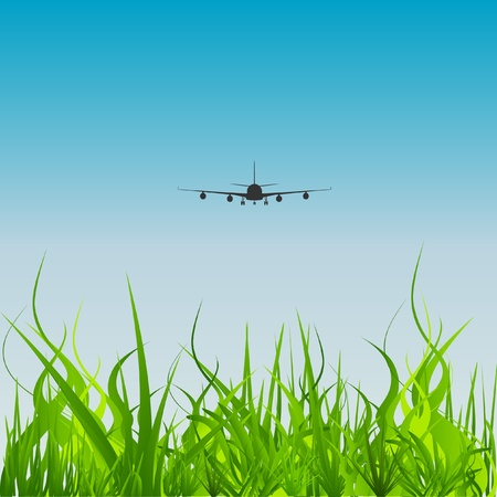 aeronautic: vector Aviation