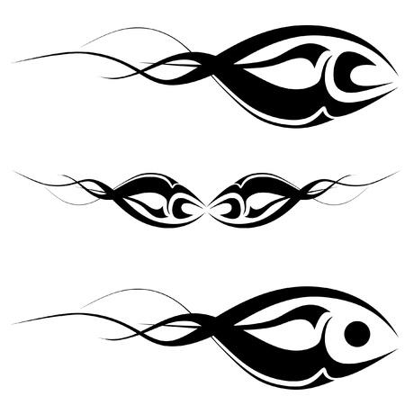 Tribal Art Tattoo Illustration