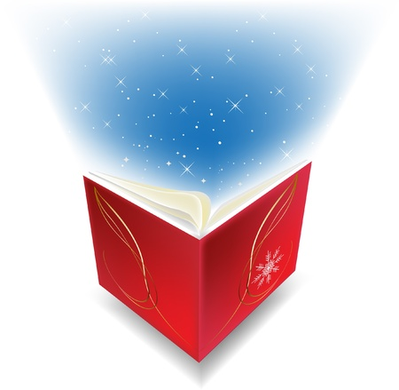 red book Stock Vector - 10592813