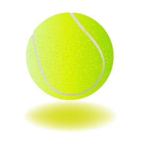 Vektor Tennisball