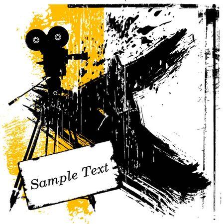 Grunge-Hintergrund Illustration