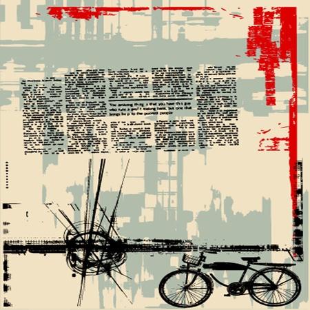 Grunge Hintergrund Illustration