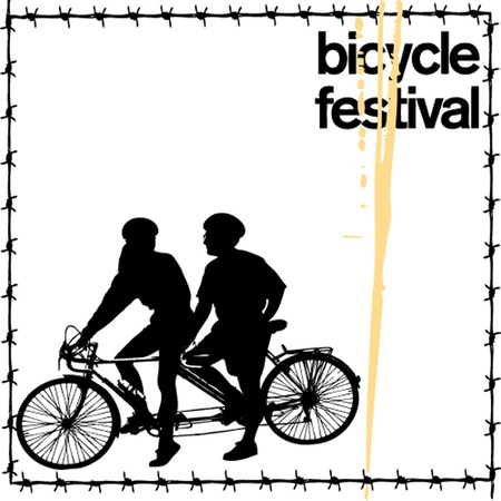 unclean: bicycle festival poste Illustration
