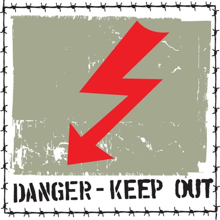 danger sign Stock Vector - 13236620
