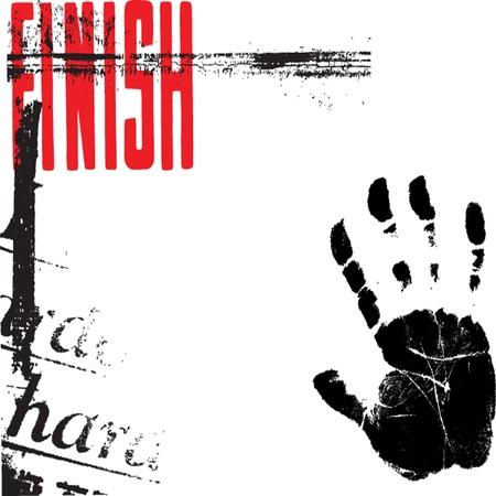 urban grunge: Typographic background