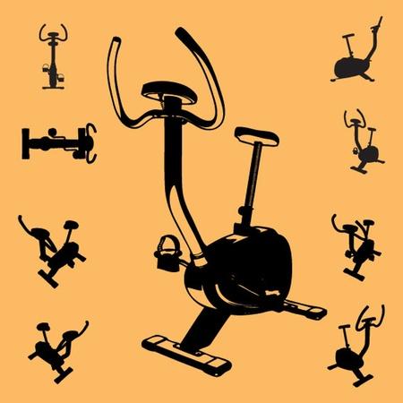 vector fitness equipment Stock Vector - 13327375