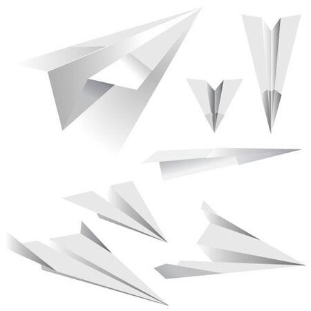 Vector Paper Plane Vector