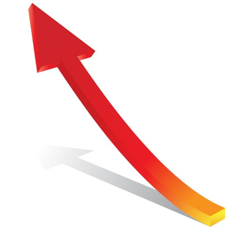 3d vector arrow Stock Vector - 13343038