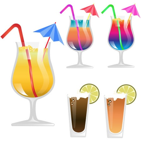 Cocktail Glass Stock Vector - 13451411