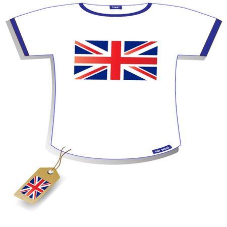 England T-shirt Vector