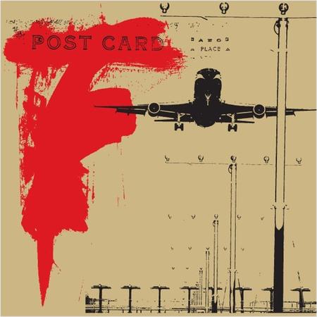 Abstract Grunge Hintergrund Illustration