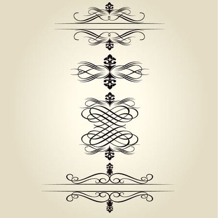 Vector decorative Design Elements Stock Vector - 13592060