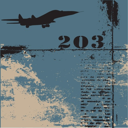 Vektor-Grunge-Hintergrund Illustration