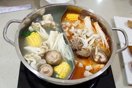Korean Seafood Hot Pot Steam Boat