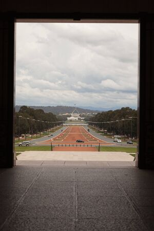 Australia War Memorial ANZAC Parade Parliament House