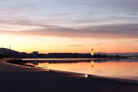 Canberra: Canberra National Carillion Morning Sunrise Dawn