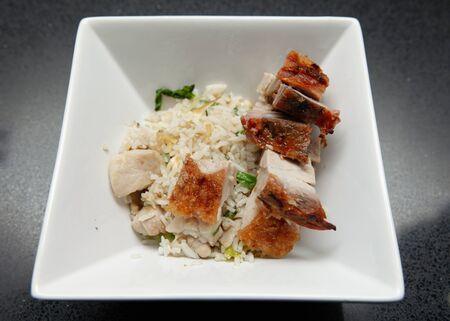 Fried Rice Roast BBQ Pork