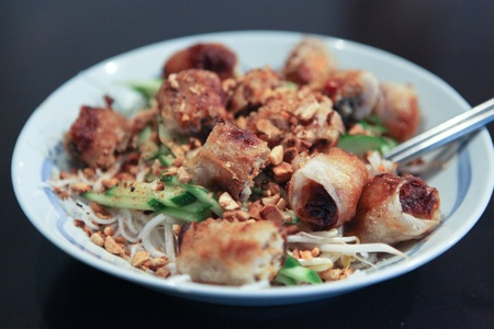 Fried Spring Rolls Vermicelli