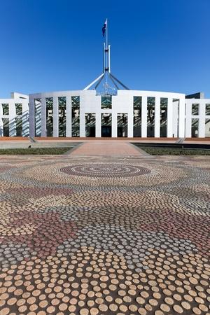 Canberra: Australia Parliament House Mosaic