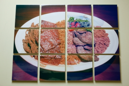 Beef Jerky Variety Dry Meat Collage