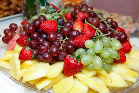 fruit basket: Fruit Basket Fruit Bowl Stock Photo