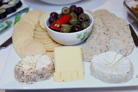 Gourmet Cheese Cheeseboard Stock Photo - 15431997