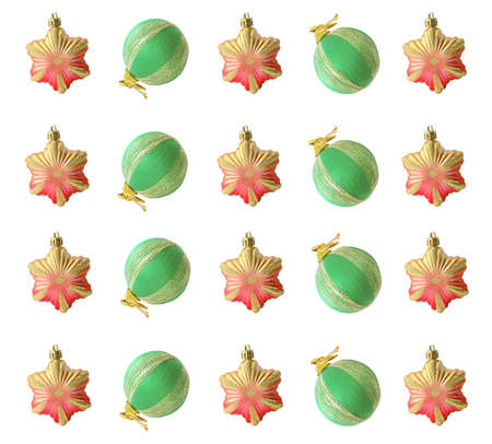 Christmas pattern Christmas tree decorations for the background photo