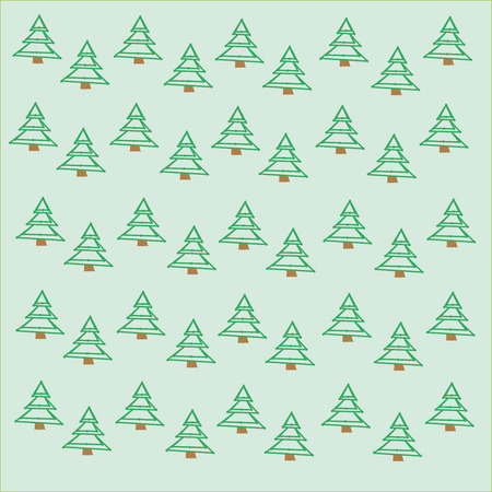 wilds: The image of green firs. Festive background for New year or Christmas. The basis for collages on the theme of nature.