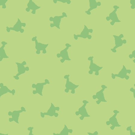 Ornament for the background, made of small items of little dinosaurs Vector