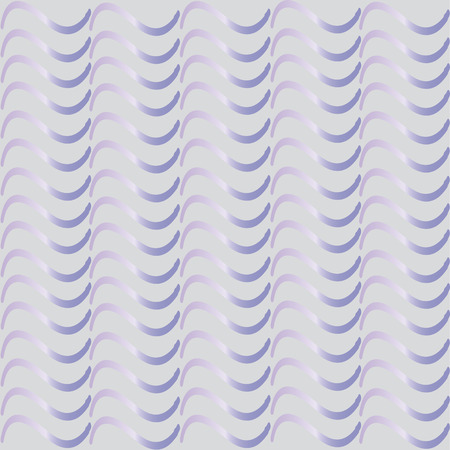 Simple silver pattern for the background, composed of wavy lines on a gray background Illustration