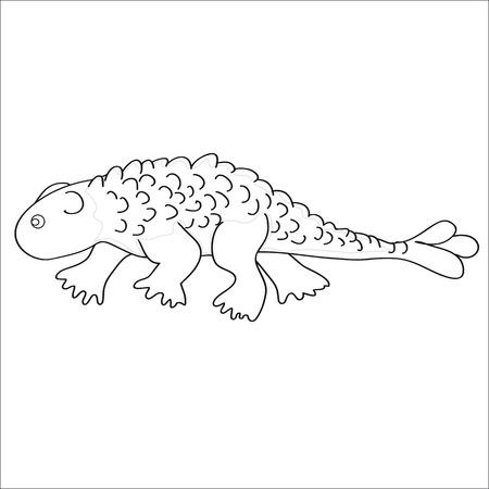 Ilustración. La Imagen Del Dinosaurio-ankylosaur Sobre Un Fondo ...