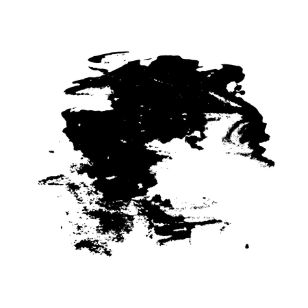 originality: Abstract template for background, consisting of a black watercolor stains on white background. Illustration