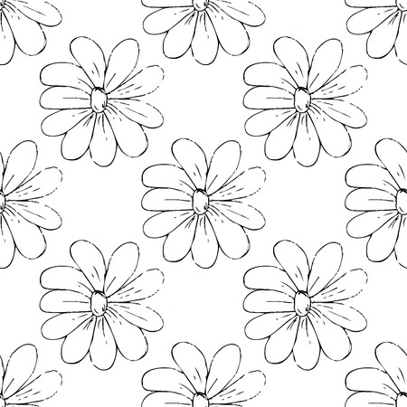 summaries: Seamless pattern of monochrome colors on a light background. Illustration