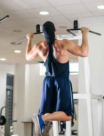 Gymnastiktraining Training Standard-Bild