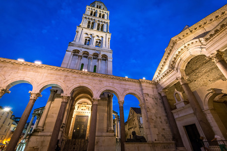 Inside of ancient Diocletian