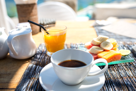 Fresh Breakfast in a beautiful location with sea views