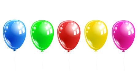 balloons Ilustracja