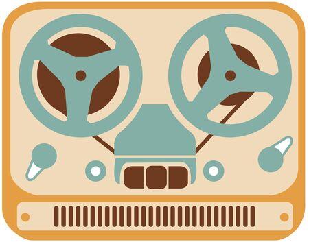 retro old tape