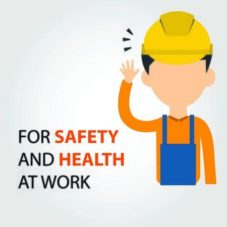 Job safety avatar Ilustracja