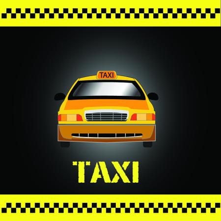 A taxi icon illustration. Ilustracja